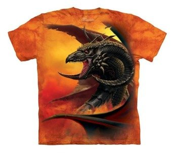 koszulka THE MOUNTAIN - SCOURGE, barwiona