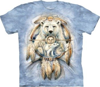 koszulka THE MOUNTAIN - SPIRIT BEAR, barwiona