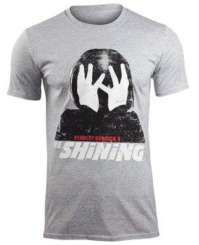 koszulka THE SHINING - KUBRICKS SHINING szary melanż