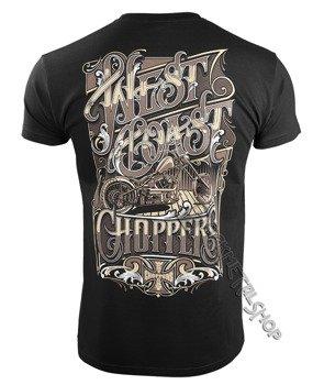 koszulka WEST COAST CHOPPERS - LOCK UP, black
