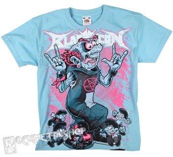 koszulka dziecięca BLACK ICON - SMURFS jasnoniebieska (JICON09 LIGHTBLUE)
