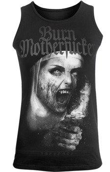 koszulka na ramiączkach AMENOMEN - BURN MOTHERFUCKER (OMEN101KR)
