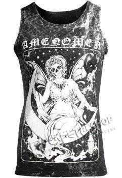 koszulka na ramiączkach AMENOMEN - FAIRY (OMEN028KR ALLPRINT WHITE)