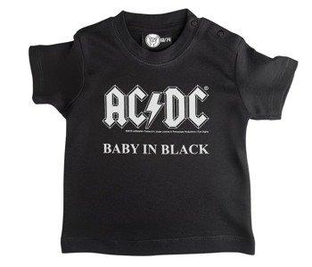 koszulka niemowlęca AC/DC - BABY IN BLACK