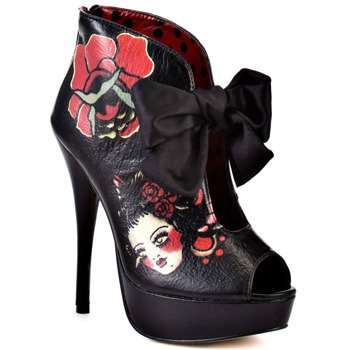 kozaczki IRON FIST - PARTING KISS PLATFORM (BLACK)