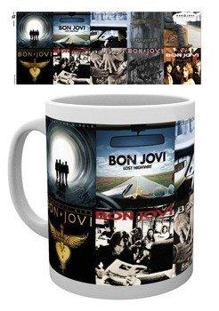 kubek BON JOVI - ALBUMS