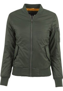 kurtka damska flyers LADIES BASIC BOMBER olive