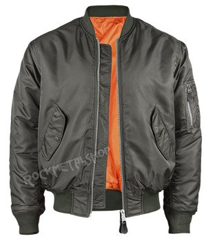 kurtka flyers MA1 JACKET anthrazit