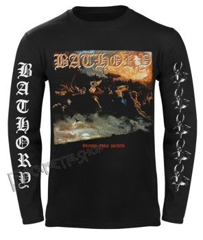 longsleeve BATHORY - BLOOD FIRE DEATH