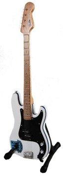 miniaturka gitary IRON MAIDEN - STEVE HARRIS:  WESTHAM UNITED BASS