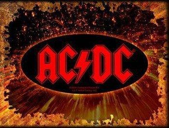 naklejka AC/DC - LOGO