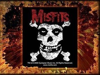 naklejka MISFITS - CROSSBONES