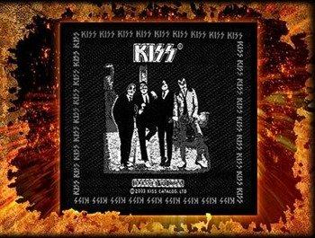 naszywka KISS - DRESSED TO KILL