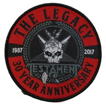 naszywka TESTAMENT - THE LEGACY 30TH ANNIVERSARY