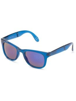 okulary VANS - FOLDABLE SPICOLI TRANSPARENT CLASSIC BLUE