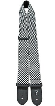 pas do gitary PERRI'S - JACQUARD BLACK AND WHITE CHECK