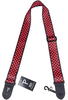 pas do gitary PERRI'S RED BLACK CHECKER BOARD