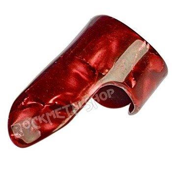 pazurek na palec duży BOSTON TORTOISE / RED