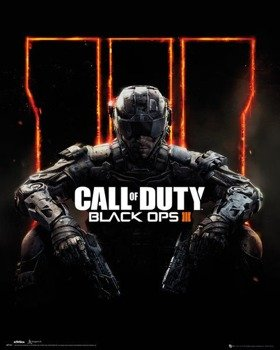 plakat CALL OF DUTY BLACK OPS 3 - COVER