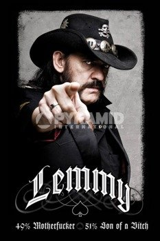 plakat LEMMY - 49% MOFO