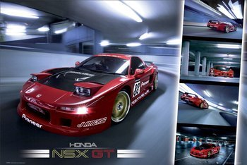 plakat NSX -GT