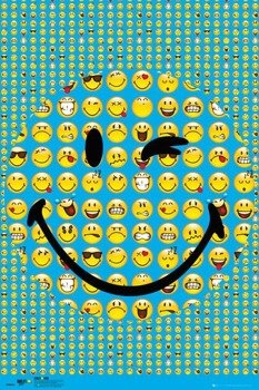 plakat SMILEY - SMILE