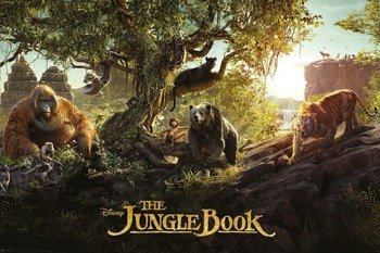 plakat THE JUNGLE BOOK - PANORAMA
