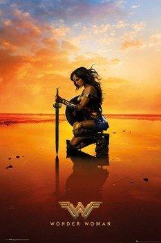 plakat WONDER WOMAN - KNEEL