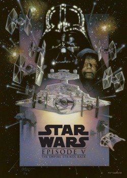 plakat z metalu STAR WARS - THE EMPIRE STRIKES BACK