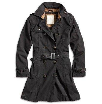 płaszcz damski TRENCHCOAT WOMEN BLACK