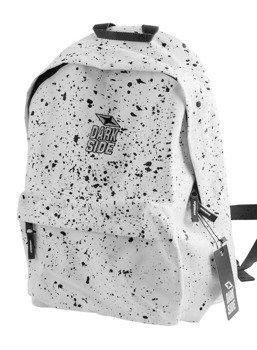 plecak DARKSIDE - WHITE WITH BLACK SPLATTER
