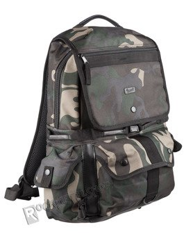 plecak NORTH TRAIL BACKPACK darkcamo, 22 litry