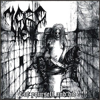 płyta CD: MORDHELL - CUT YOURSELF AND DIE! (FA666 003)
