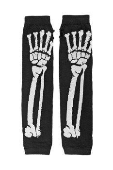 rękawiczki POIZEN INDUSTRIES - BONE BLAK WHITE