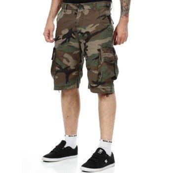 spodnie bojówki krótkie WEST COAST CHOPPERS - INDUSTRIY CAMOUFLAGE