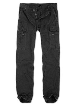 spodnie joggery BAD BOYS PANTS - SCHWARZ