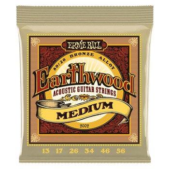 struny do gitary akustycznej ERNIE BALL Earthwood 80/20 Bronze EB2002 /013-056/