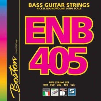 struny do gitary basowej 5str. BOSTON ENB405 / NICKEL ROUNDWOUND /045-125/