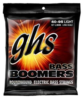 struny do gitary basowej GHS BASS BOOMERS / L3045 LIGHT /040-095/