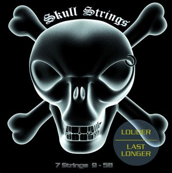 struny do gitary elektrycznej 7-strunowej Skull Strings XTREME Line 7S /009-058/