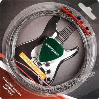 struny do gitary elektrycznej CRAFTMAN NICKEL WOUND LGS /009-046/
