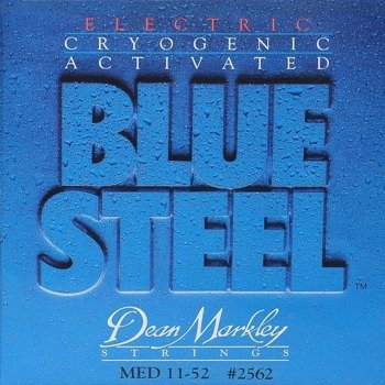 struny do gitary elektrycznej DEAN MARKLEY 2562 BLUE STEEL Medium /011-052/