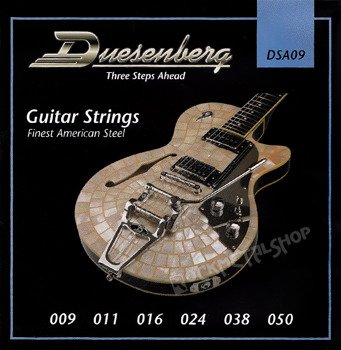 struny do gitary elektrycznej DUESENBERG DSA09 /009-050/