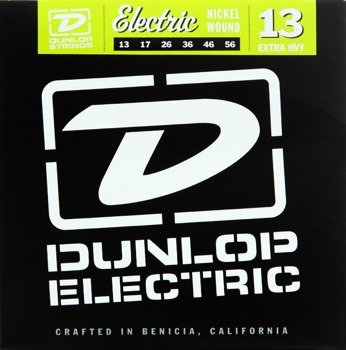 struny do gitary elektrycznej JIM DUNLOP - EXTRA HEAVY NIKIEL DEN1356 /013-056/