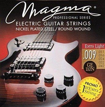 struny do gitary elektrycznej MAGMA GE110N Nickel Plated / Extra Light /009-042/