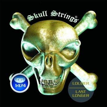 struny do gitary elektrycznej Skull Strings DROP-G Line /014-074/