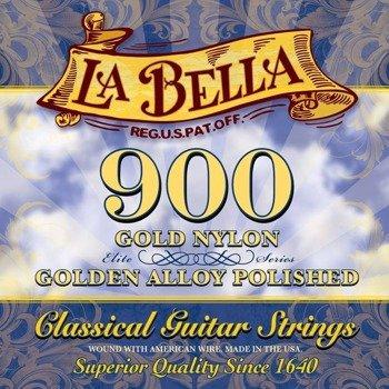 struny do gitary klasycznej LA BELLA Elite Series 900 Golden Superior