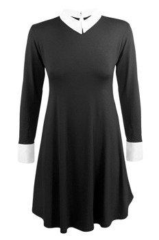 sukienka GOTHIC ROCK - BABY DOLL czarna