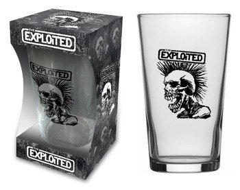 szklanka do piwa THE EXPLOITED - SKULL