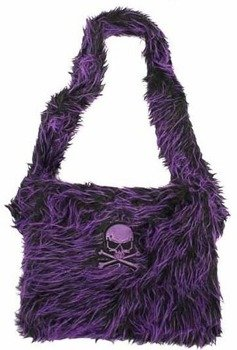 torba QUEEN OF DARKNESS purple/black